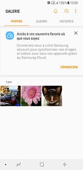 Samsung Galaxy A8 - Photos, vidéos, musique - Envoyer une photo via Bluetooth - Étape 4
