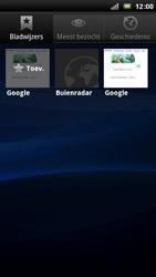 Sony Ericsson Xperia Arc - Internet - Hoe te internetten - Stap 9