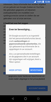 ZTE Blade V9 - Applicaties - Account instellen - Stap 17