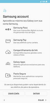 Samsung Galaxy S8 Plus - Primeiros passos - Como ligar o telemóvel pela primeira vez -  16