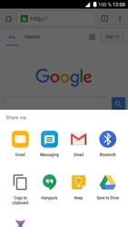 Alcatel Shine Lite - Internet - Internet browsing - Step 21