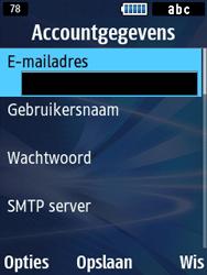 Samsung B2710 Xcover 271 - E-mail - Handmatig instellen - Stap 24