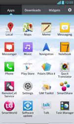 LG E975 Optimus G - Voicemail - Manual configuration - Step 3