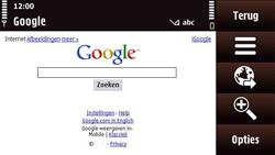 Nokia N97 Mini - Internet - Hoe te internetten - Stap 7