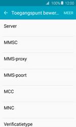 Samsung Galaxy J1 (2016) (J120) - MMS - handmatig instellen - Stap 11