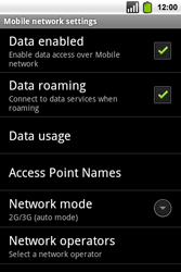 Alcatel OT-991 Smart - Internet - Usage across the border - Step 6
