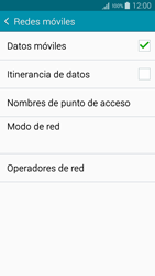 Samsung Galaxy S6 - Red - Seleccionar una red - Paso 5