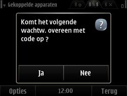 Nokia E6-00 - Bluetooth - koppelen met ander apparaat - Stap 12