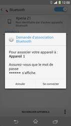 Sony C6903 Xperia Z1 - Bluetooth - connexion Bluetooth - Étape 9