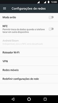Motorola Moto Z2 Play - Wi-Fi - Como usar seu aparelho como um roteador de rede wi-fi - Etapa 4