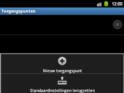 Samsung B5510 Galaxy TXT - MMS - Handmatig instellen - Stap 8