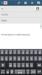 Samsung G386F Galaxy Core LTE - E-mail - envoyer un e-mail - Étape 4