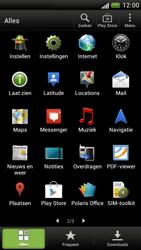 HTC Z520e One S - Voicemail - handmatig instellen - Stap 3