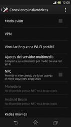 Sony Xperia Z - Funciones básicas - Activar o desactivar el modo avión - Paso 5