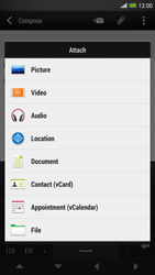 HTC One Max - Email - Sending an email message - Step 11