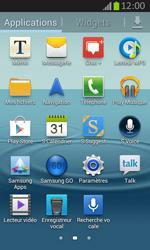 Samsung S7710 Galaxy Xcover 2 - Bluetooth - connexion Bluetooth - Étape 5
