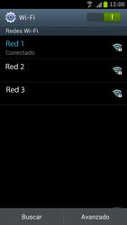 Samsung I9300 Galaxy S III - WiFi - Conectarse a una red WiFi - Paso 8