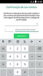 Huawei Ascend Y625 - Aplicações - Como configurar o WhatsApp -  6