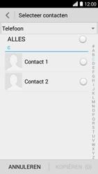 Huawei Ascend Y530 (Model Y530-U00) - Contacten en data - Contacten kopiëren van toestel naar SIM - Stap 7