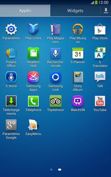 Samsung Galaxy Tab 3 8 4G - Internet et connexion - Utiliser le mode modem par USB - Étape 3