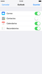 Apple iPhone 6 iOS 10 - E-mail - Configurar Outlook.com - Paso 9