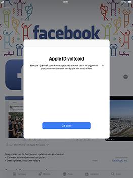 Apple iPad Pro 10.5 inch met iOS 11 (Model A1709) - Applicaties - Account aanmaken - Stap 19