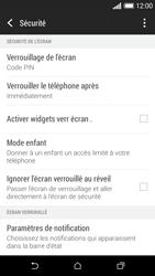 HTC Desire 610 - Sécuriser votre mobile - Activer le code de verrouillage - Étape 12