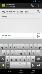 Acer Liquid E1 - Mms - Sending a picture message - Step 11
