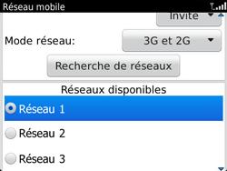 BlackBerry 9790 Bold - Réseau - Utilisation à l
