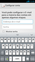 Huawei Ascend G510 - Email - Como configurar seu celular para receber e enviar e-mails - Etapa 6