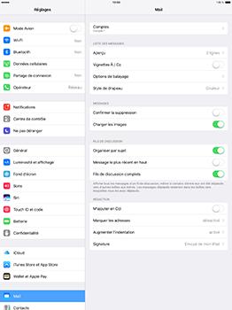Apple iPad Pro 12.9 (1st gen) - iOS 10 - E-mail - Configuration manuelle - Étape 30