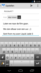 Acer Liquid Jade S - E-mail - Bericht met attachment versturen - Stap 9