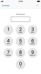 Apple iPhone SE - iOS 11 - Sécuriser votre mobile - Personnaliser le code PIN de votre carte SIM - Étape 6