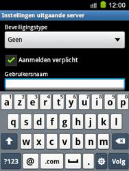 Samsung S5570 Galaxy Mini - E-mail - e-mail instellen: IMAP (aanbevolen) - Stap 14