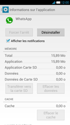 Bouygues Telecom Ultym 4 - Applications - Supprimer une application - Étape 6