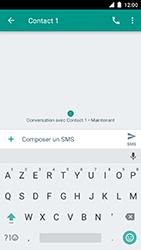 Motorola Moto C Plus - Contact, Appels, SMS/MMS - Envoyer un SMS - Étape 8