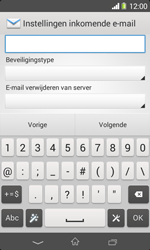Sony D2005 Xperia E1 - E-mail - Account instellen (POP3 zonder SMTP-verificatie) - Stap 10