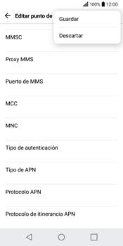 LG Q6 - Mensajería - Configurar el equipo para mensajes multimedia - Paso 15