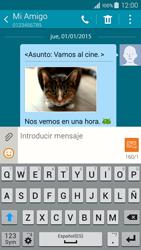 Samsung Galaxy A3 - Mensajería - Escribir y enviar un mensaje multimedia - Paso 24
