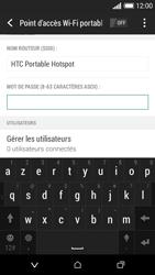 HTC Desire 610 - Internet et connexion - Partager votre connexion en Wi-Fi - Étape 10