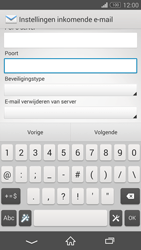 Sony D5803 Xperia Z3 Compact - E-mail - Account instellen (POP3 zonder SMTP-verificatie) - Stap 10