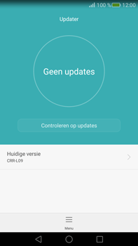 Huawei Mate S - Netwerk - Software updates installeren - Stap 8