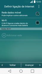 LG Y50 / LEON - Primeiros passos - Como ligar o telemóvel pela primeira vez -  6