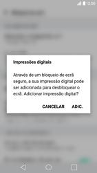 LG G5 - Segurança - Como ativar o código de bloqueio do ecrã -  13