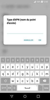 LG Q6 - Internet - Configuration manuelle - Étape 13