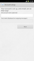 Sony LT28h Xperia ion - E-mail - Manual configuration - Step 14