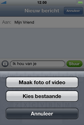 Apple iPhone 4S - MMS - hoe te versturen - Stap 7