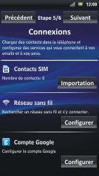 Sony Ericsson Xpéria Arc - Premiers pas - Créer un compte - Étape 7
