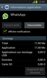 Samsung Galaxy Express - Applications - Supprimer une application - Étape 6
