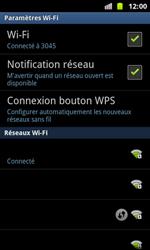 Samsung I8160 Galaxy Ace II - Wifi - configuration manuelle - Étape 8